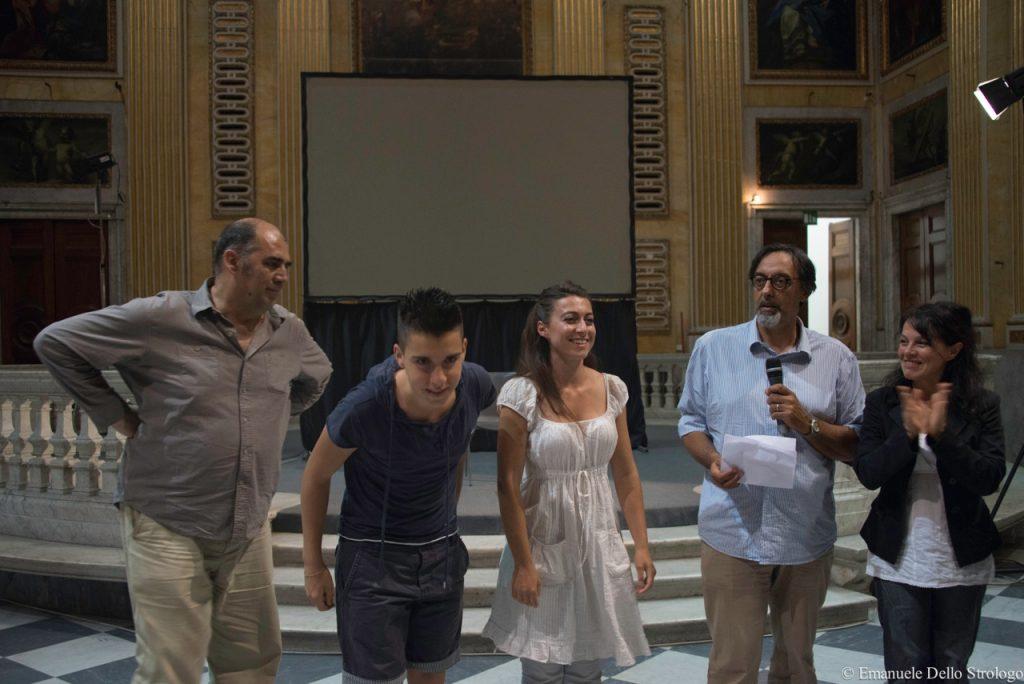 ActorsPoetryFestival 3rd  -Alberto Ricci, Silvia Lucibello - Premio Antenna blu