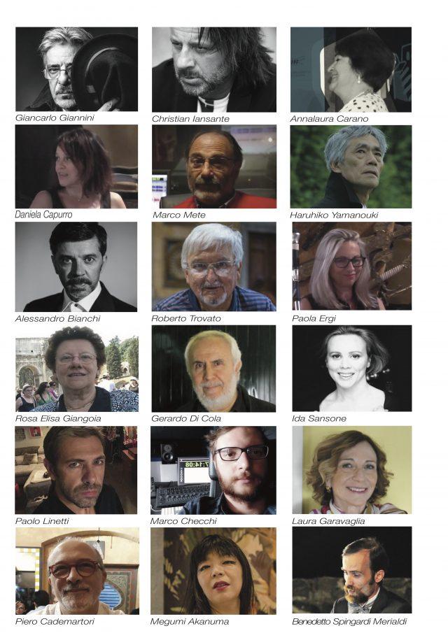Giuria e Ospiti di Portofino Dubbing Glamour Festival - ActorsPoetryFestival