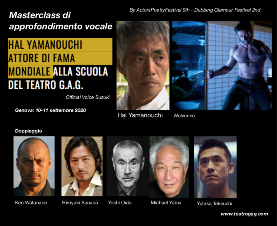 Masterclass con Hal Yamanouchi