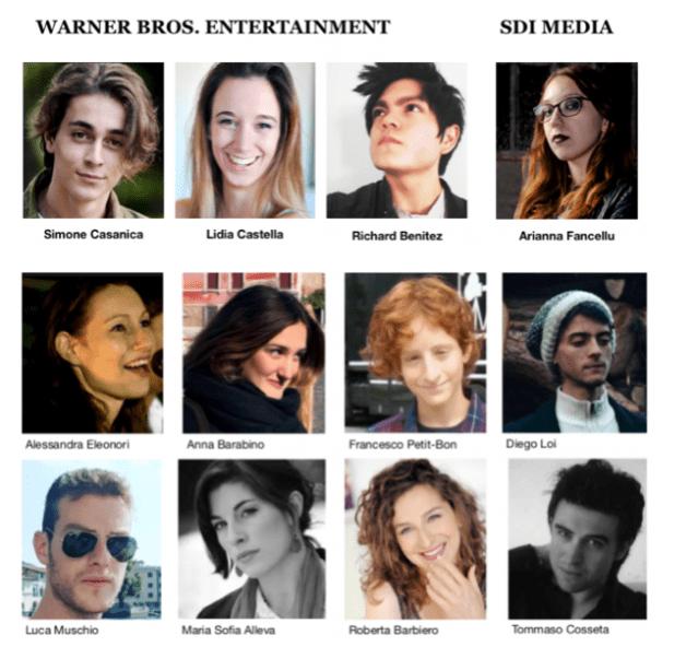 I Vincitori di Portofino Dubbing Glamour Festival 1st - ActorsPoetryFestival 8th