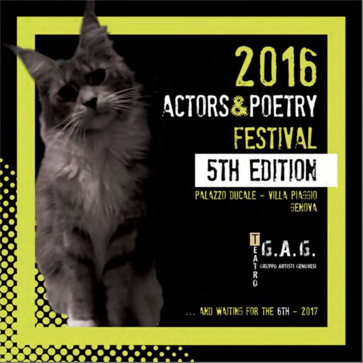 Catalogo di ActorsPoetryFestival 5th
