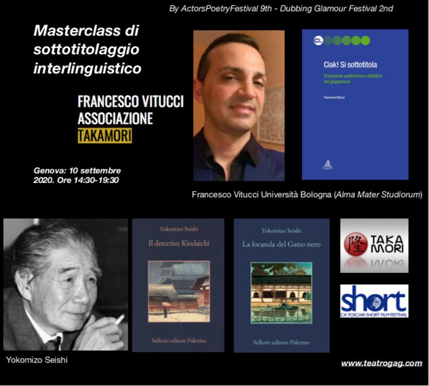 Masterclass con Francesco Vitucci