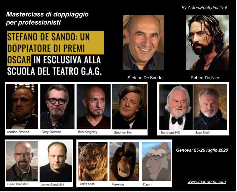 Stefano De Sando Masterclass