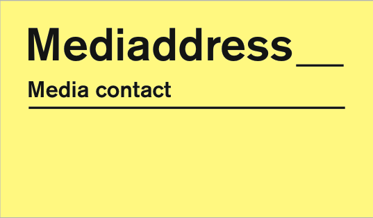 Mediaddress